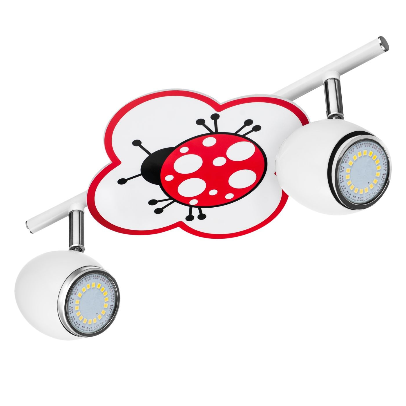 home24 LED-Deckenleuchte Fly