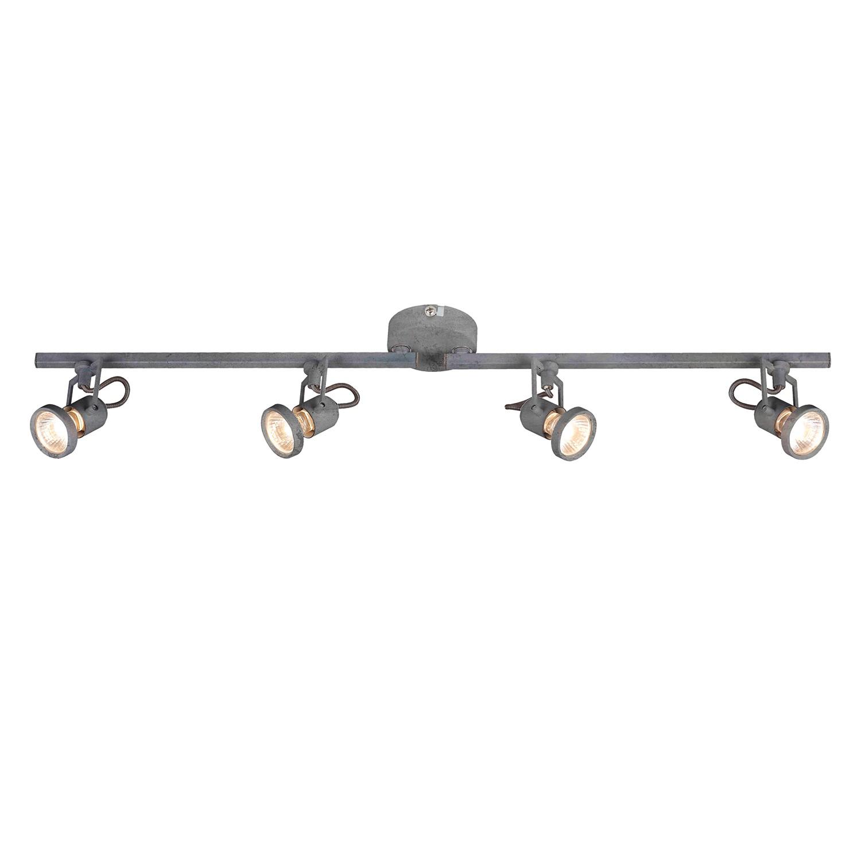 home24 LED-Deckenleuchte Concreto