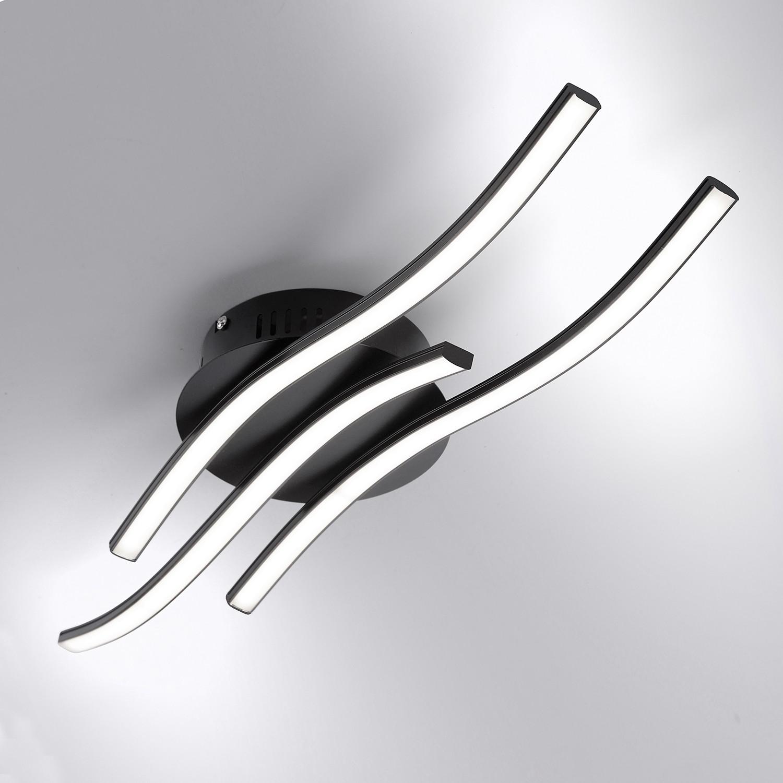home24 LED-Deckenleuchte Wave V