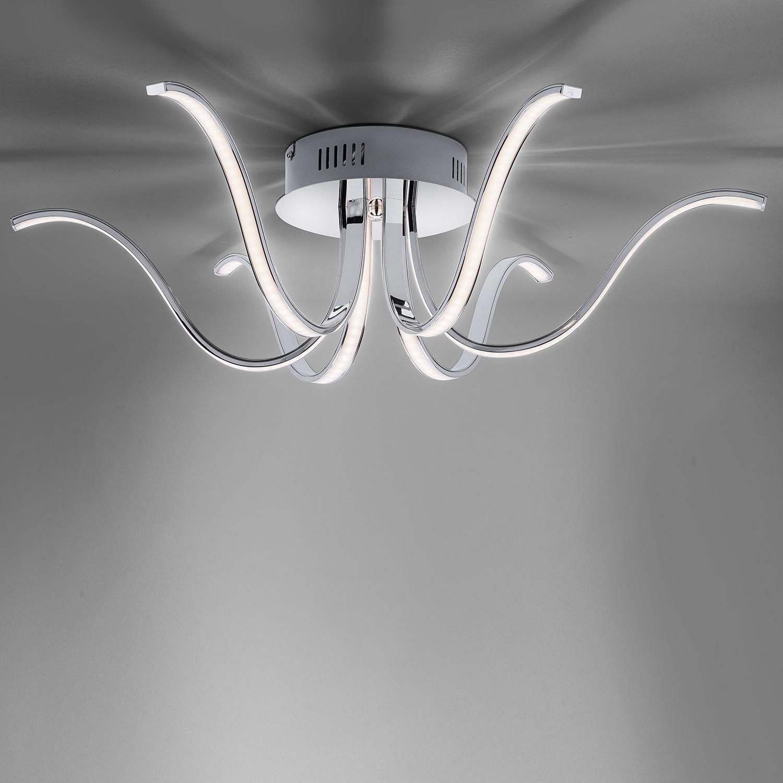 home24 LED-Deckenleuchte Valerie III