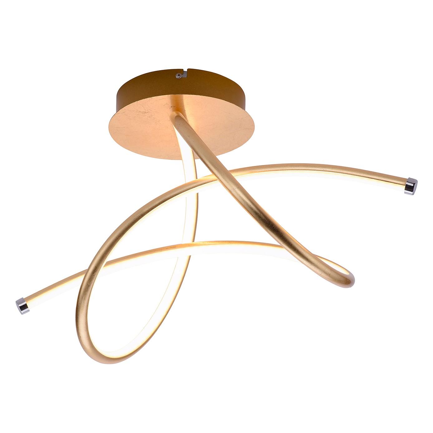 home24 LED-Deckenleuchte Violetta