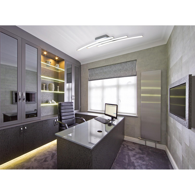 home24 LED-Deckenleuchte Dubai