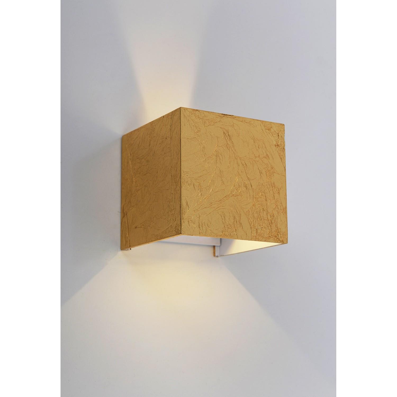 home24 LED-Wandleuchte Pisa