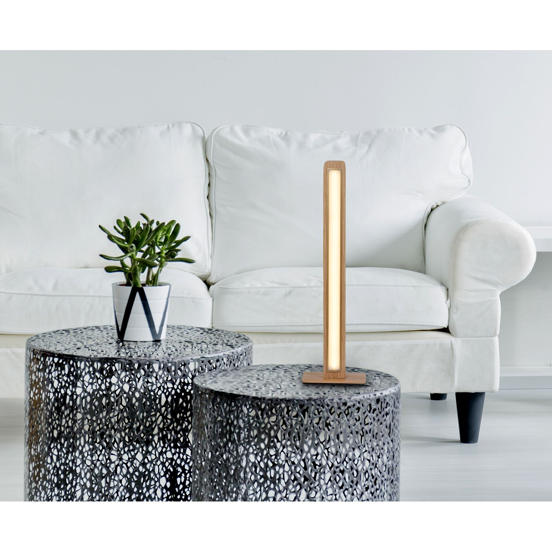 home24 LED-Tischleuchte Rovere