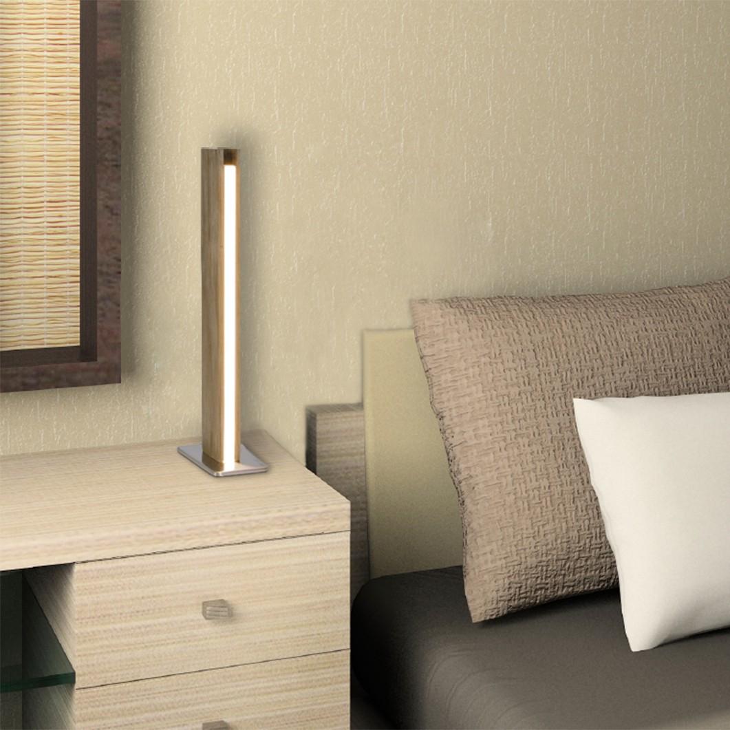 home24 LED Tischleuchte Straight