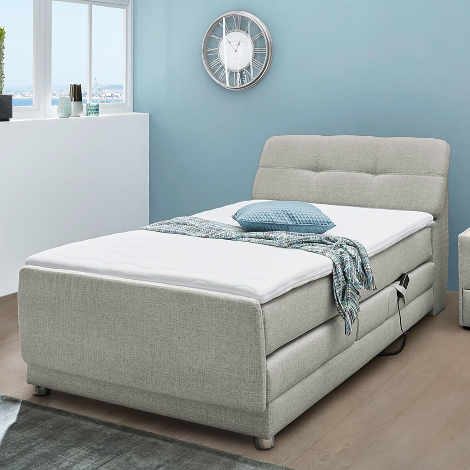 Lit boxspring Leven
