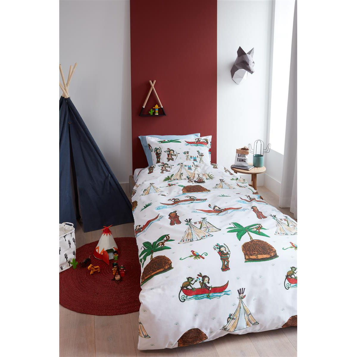 home24 Renforce Bettwaesche KIDS Wigwam