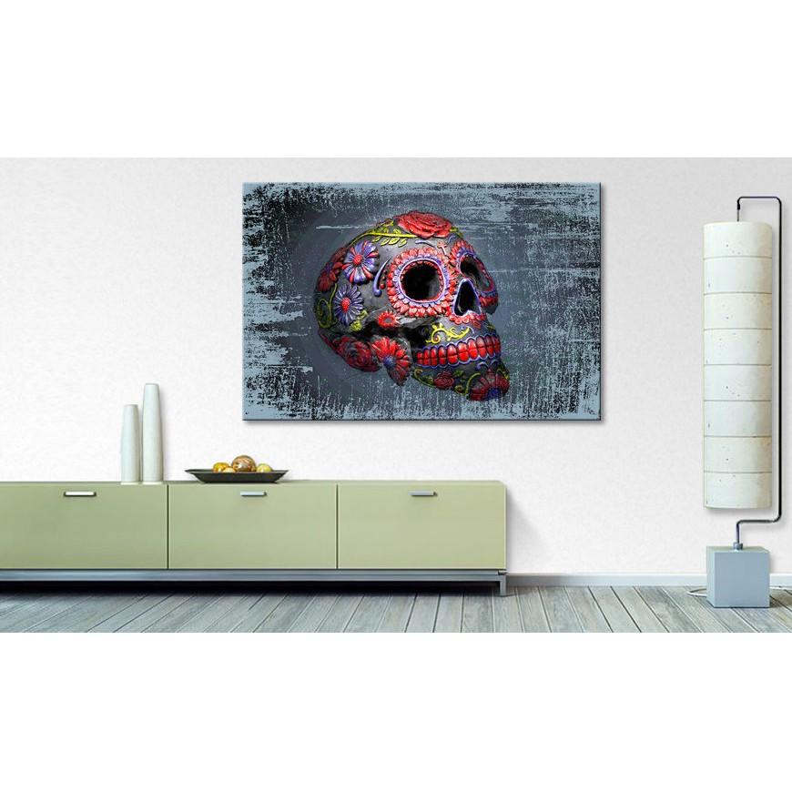 home24 Bild Smiling Skull   Dekoration > Bilder und Rahmen > Bilder   WandbilderXXL