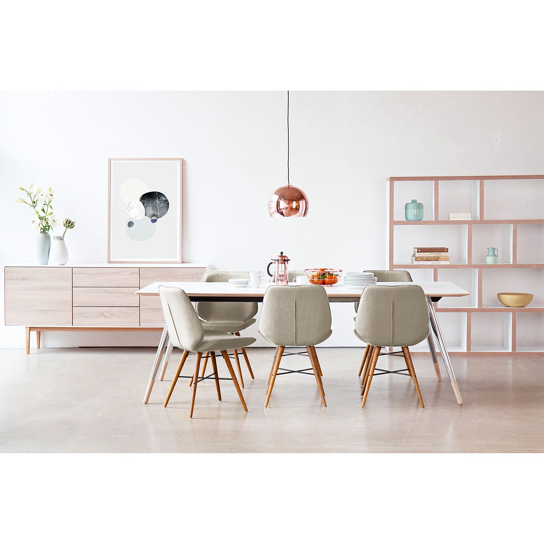 Home24 Stoelen toSTOL I (2-delige set), Studio Copenhagen