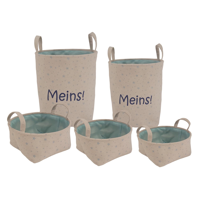 home24 Aufbewahrungsboxen Breda I (5-teilig)   Garten > Gartenmöbel > Aufbewahrung   Beige   Flechtwaren Mueller
