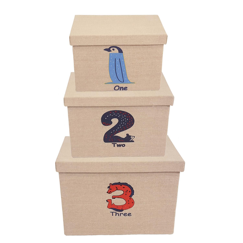 home24 Aufbewahrungsboxen Son I (3-teilig)   Garten > Gartenmöbel > Aufbewahrung   Beige   Flechtwaren Mueller