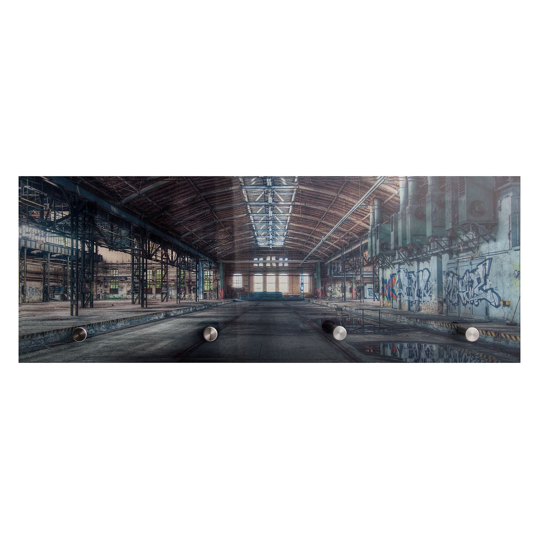Glasgarderobe Warehouse, loftscape
