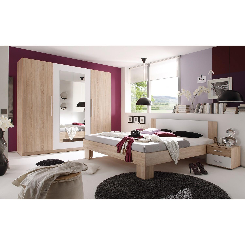 Schlafzimmermöbel - Schlafzimmerset Kilcar - loftscape - Weiss