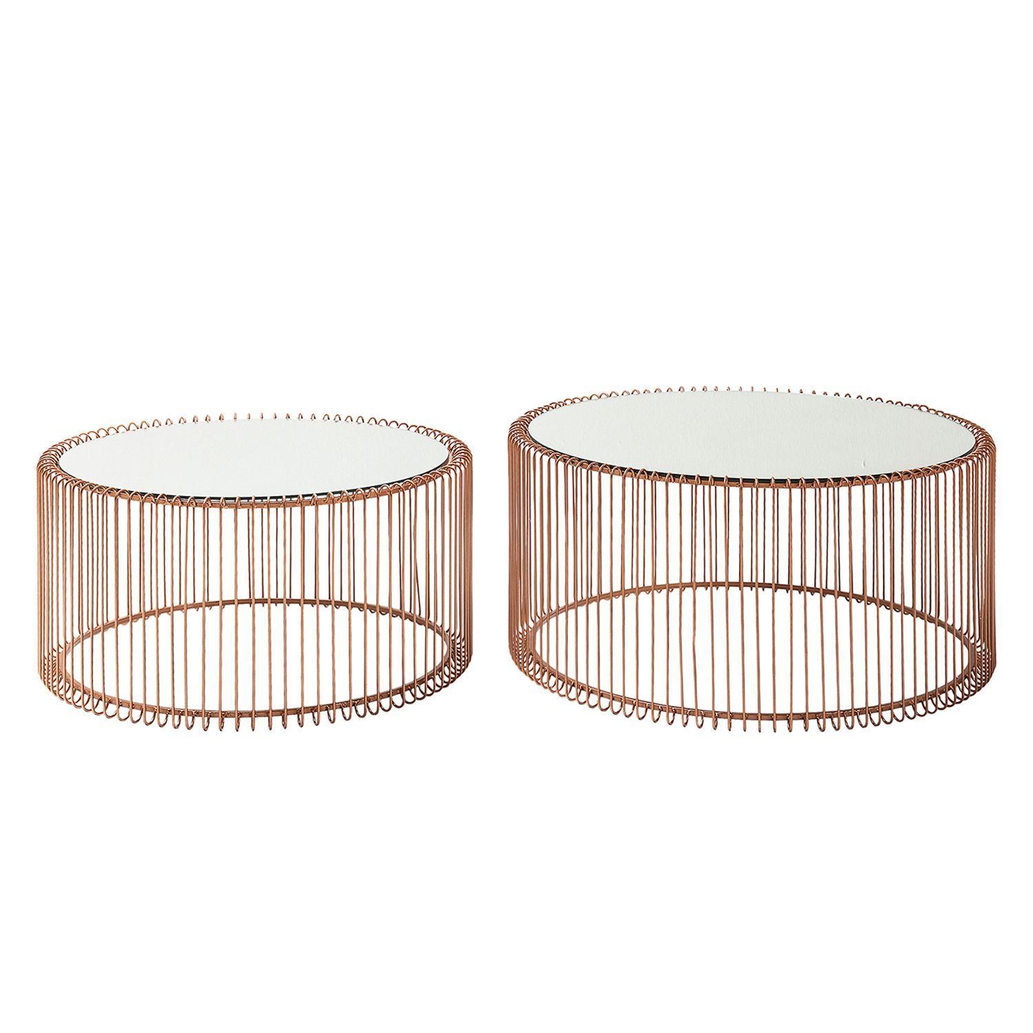 home24 Couchtisch Wire (2-er Set)