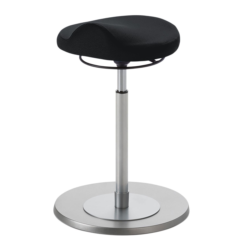 home24 Arbeitshocker Enid   Büro > Bürostühle und Sessel  > Bürostühle   Schwarz   Metall   Mayer Sitzmoebel