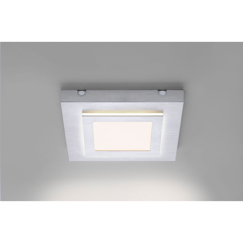 Home24 LED-plafondlamp Tiling I, Paul Neuhaus