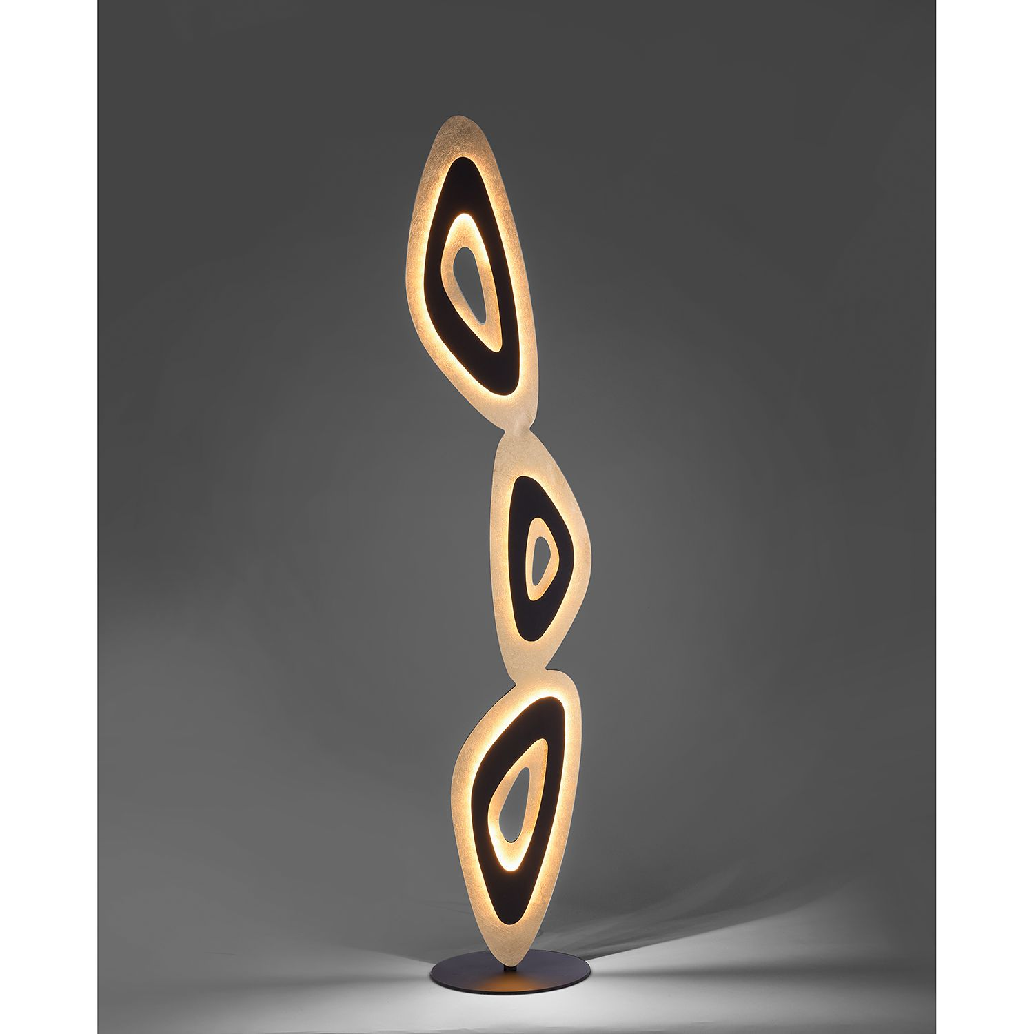 home24 LED-Stehleuchte Nevis