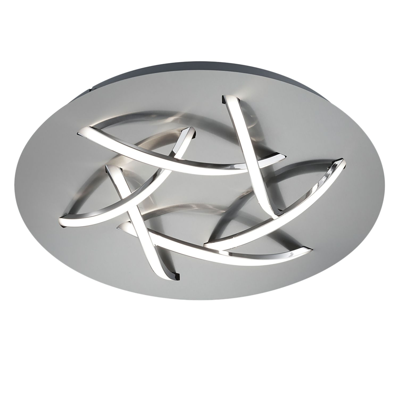 home24 LED-Deckenleuchte Dolphin III