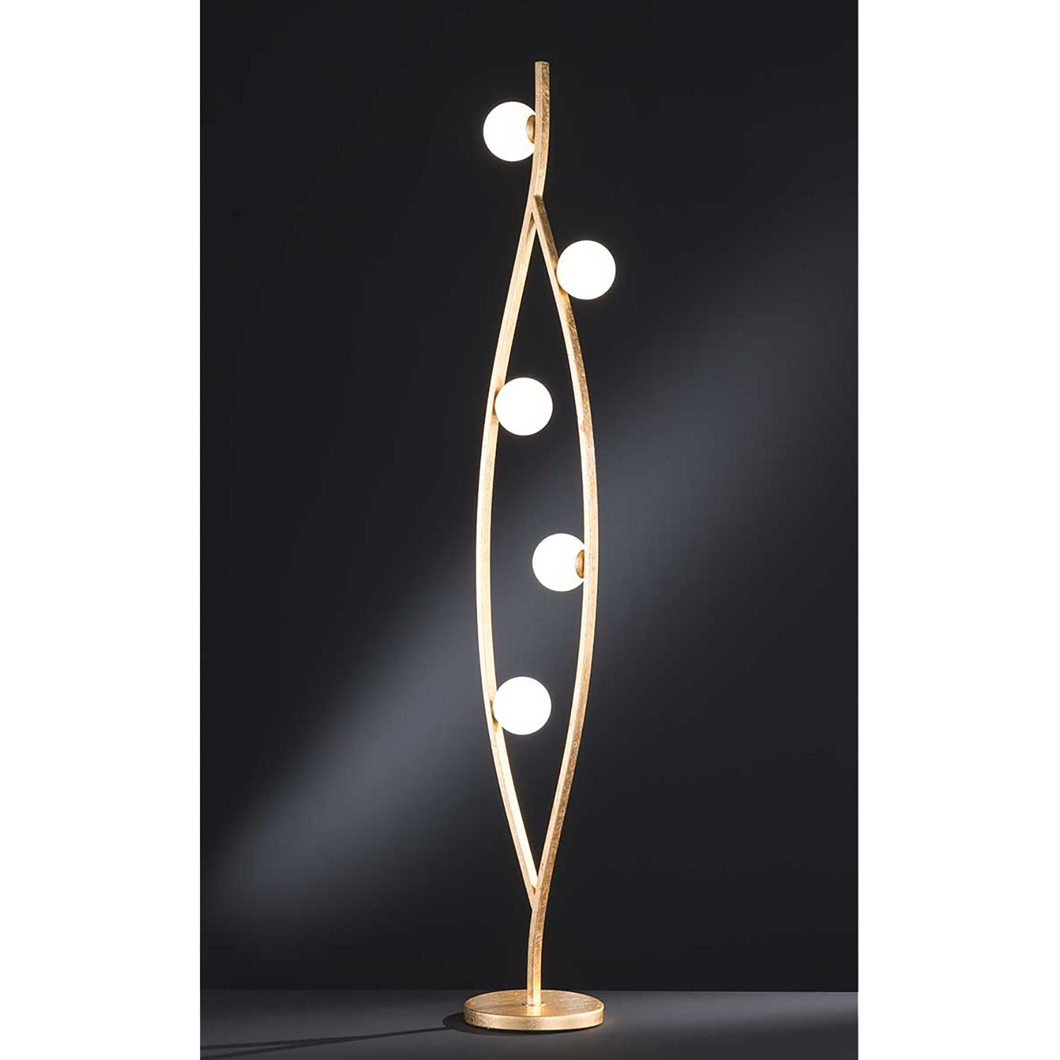 home24 LED-Stehleuchte Dina