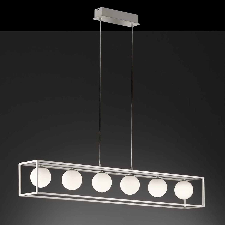 home24 LED-Pendelleuchte Aurelia