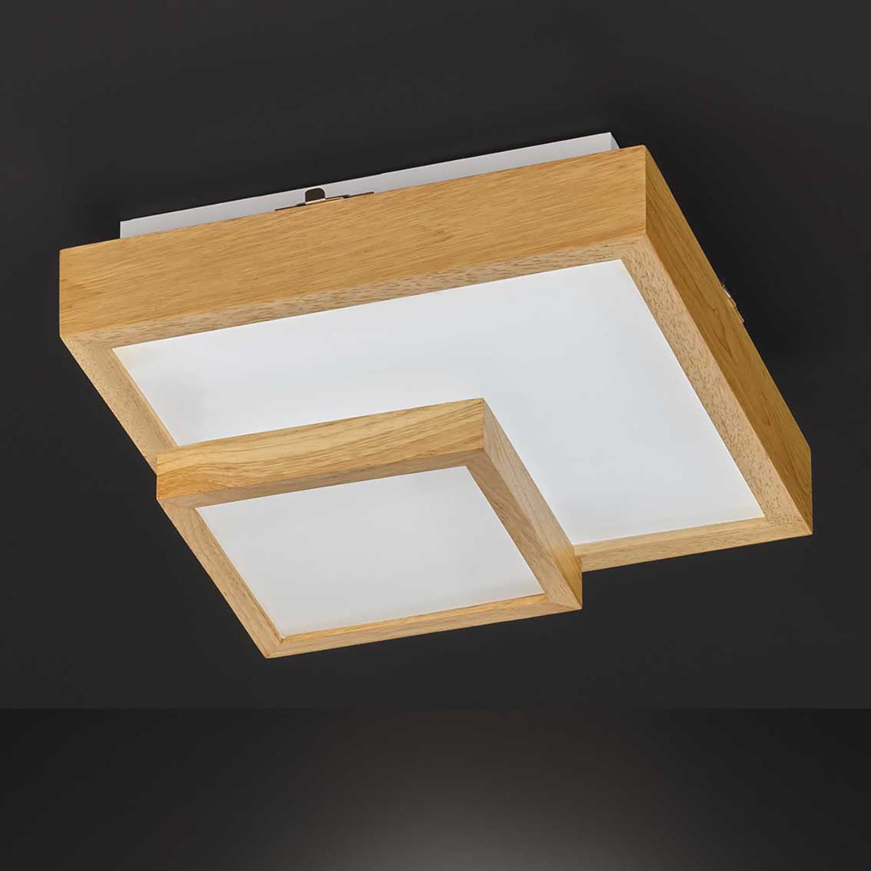 home24 LED-Deckenleuchte Hudson I