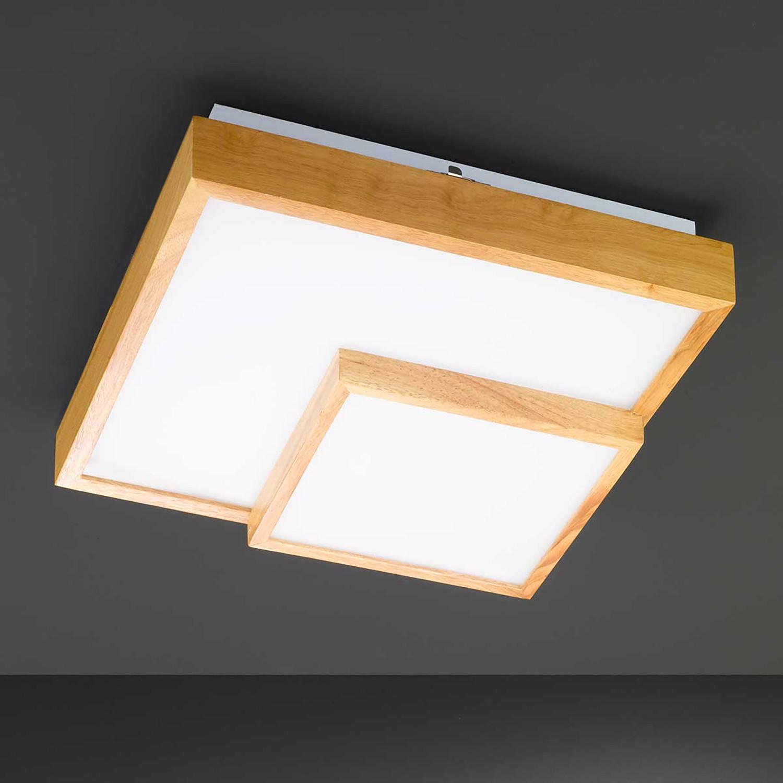 home24 LED-Deckenleuchte Hudson II