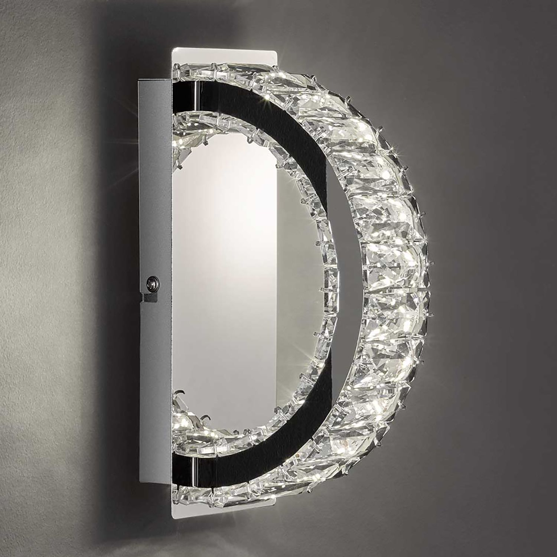 home24 LED-Wandleuchte Anesa I