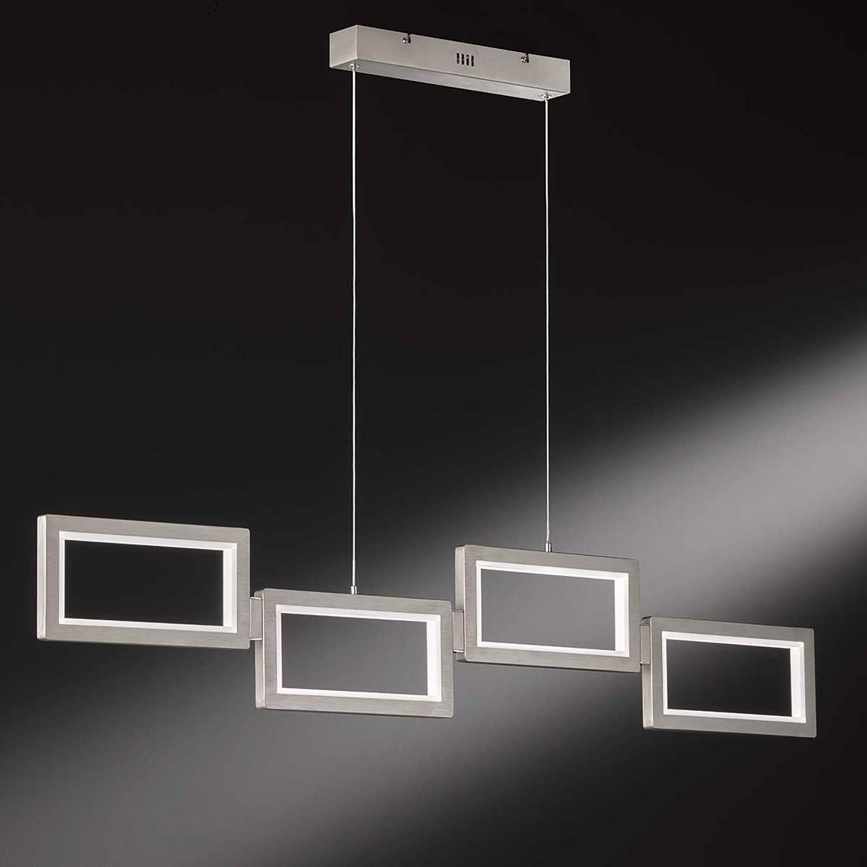 home24 LED-Pendelleuchte Viso V