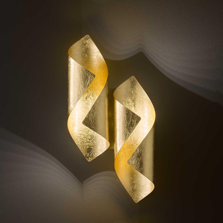 home24 LED-Wandleuchte Safira