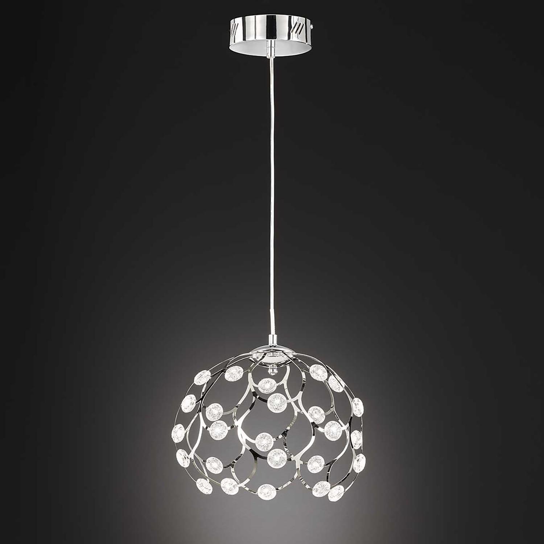 home24 LED-Pendelleuchte Gino