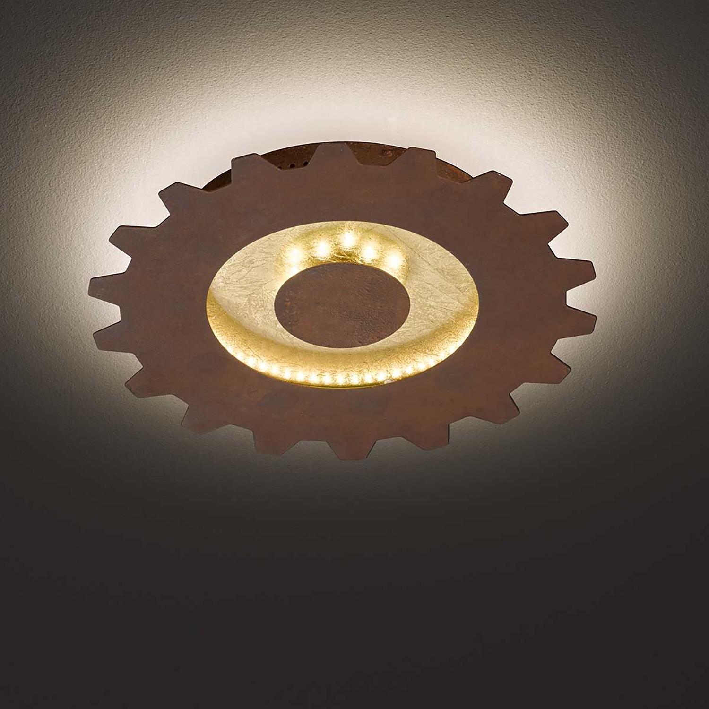 home24 LED-Deckenleuchte Leif