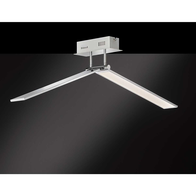 home24 LED-Deckenleuchte Livia