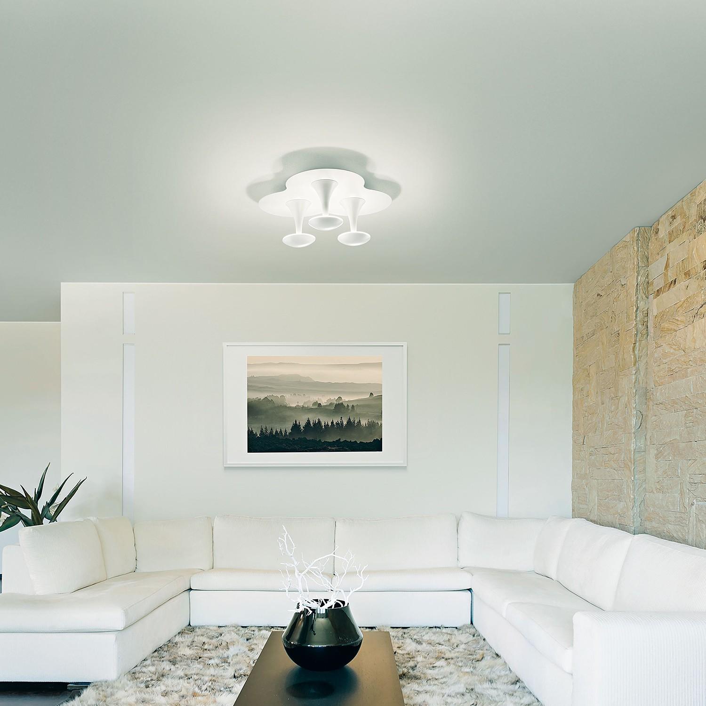 home24 LED-Deckenleuchte Piper