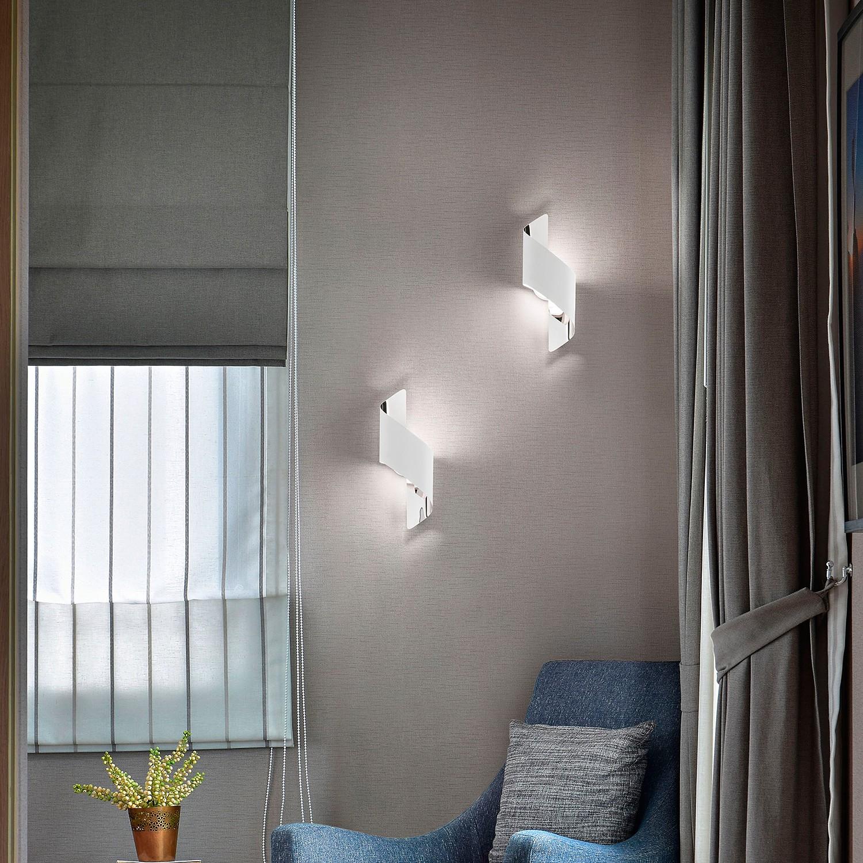 home24 LED-Deckenleuchte Fanes