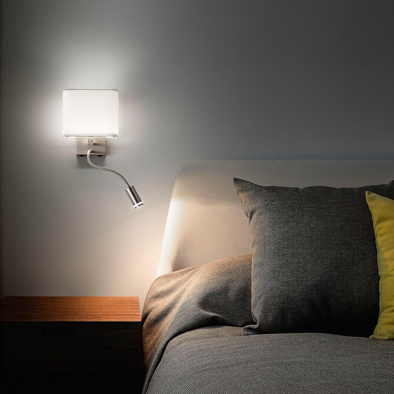 home24 LED-Wandleuchte Vietri