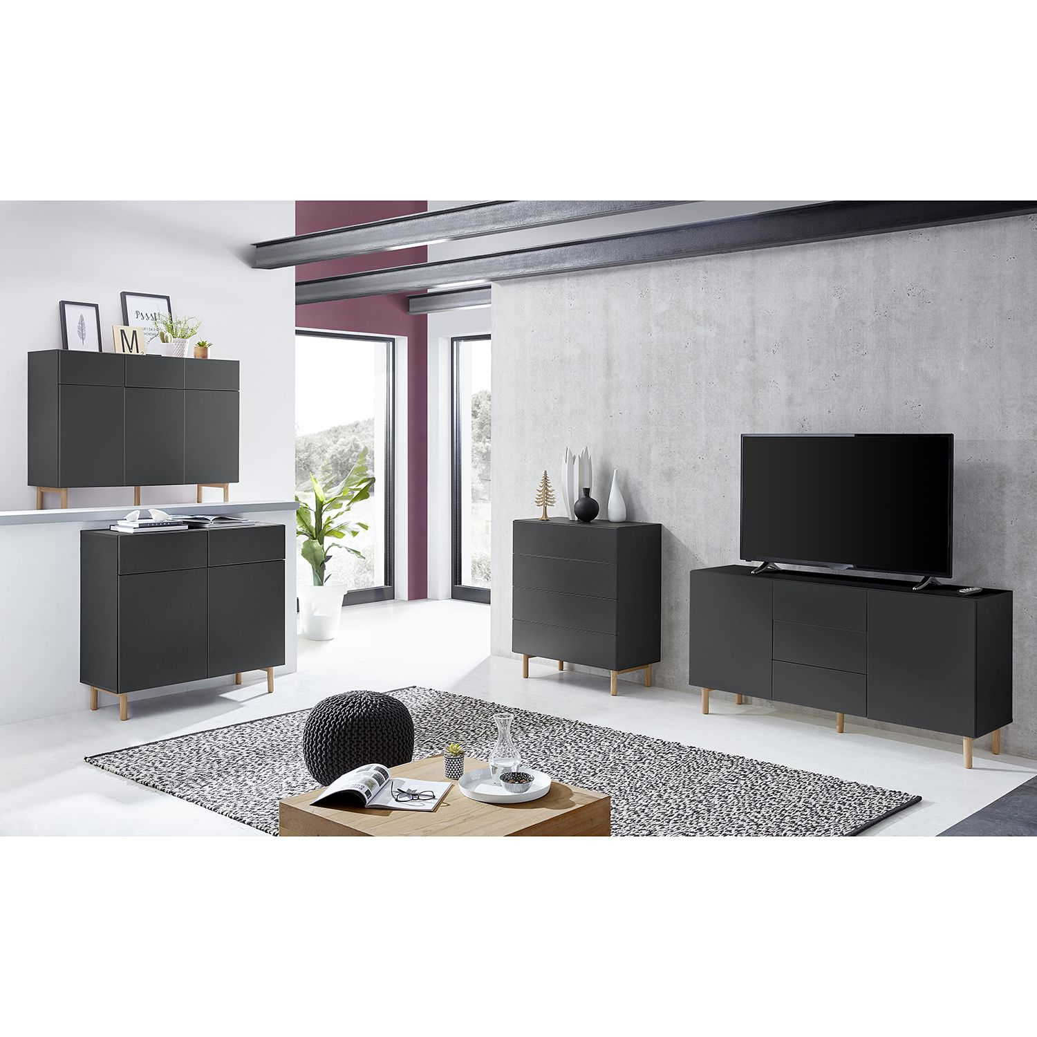 home24 Sideboard Tehi