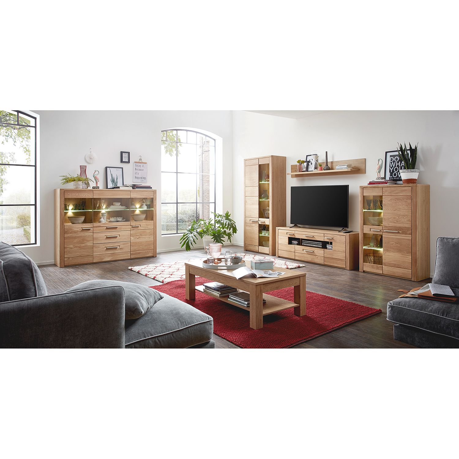 Ensemble meubles TV NatureStar