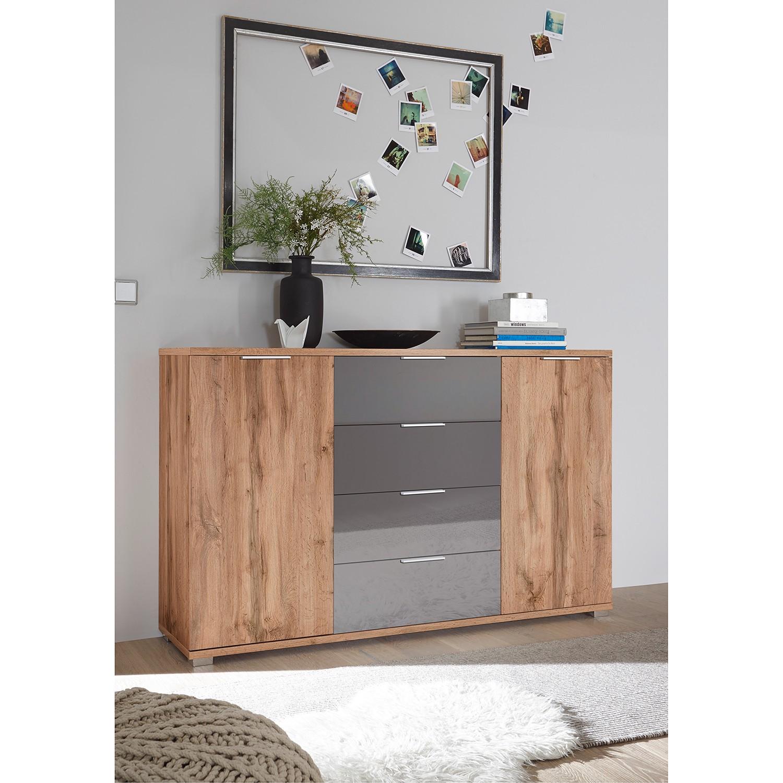 Schlafzimmermöbel - Sideboard Telsen - loftscape - Grau