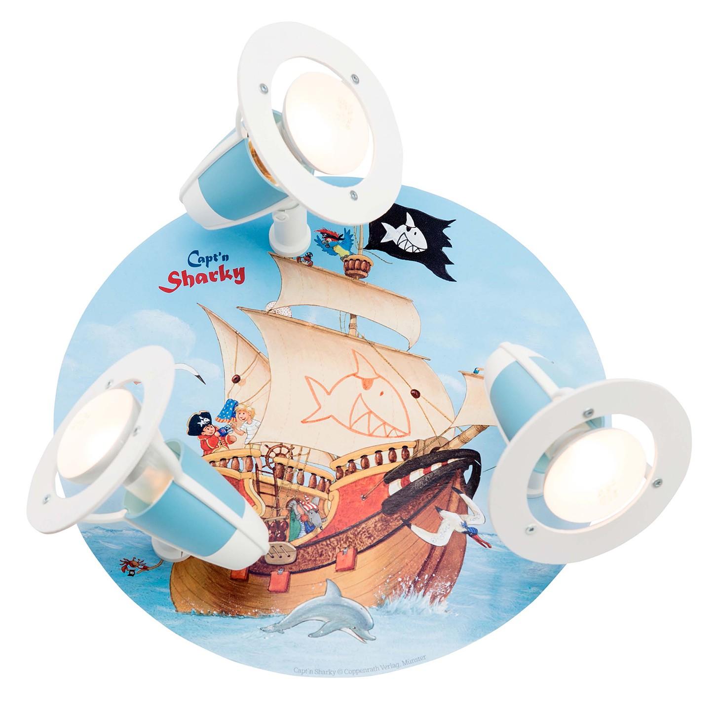 home24 Deckenleuchte Captn Sharky I