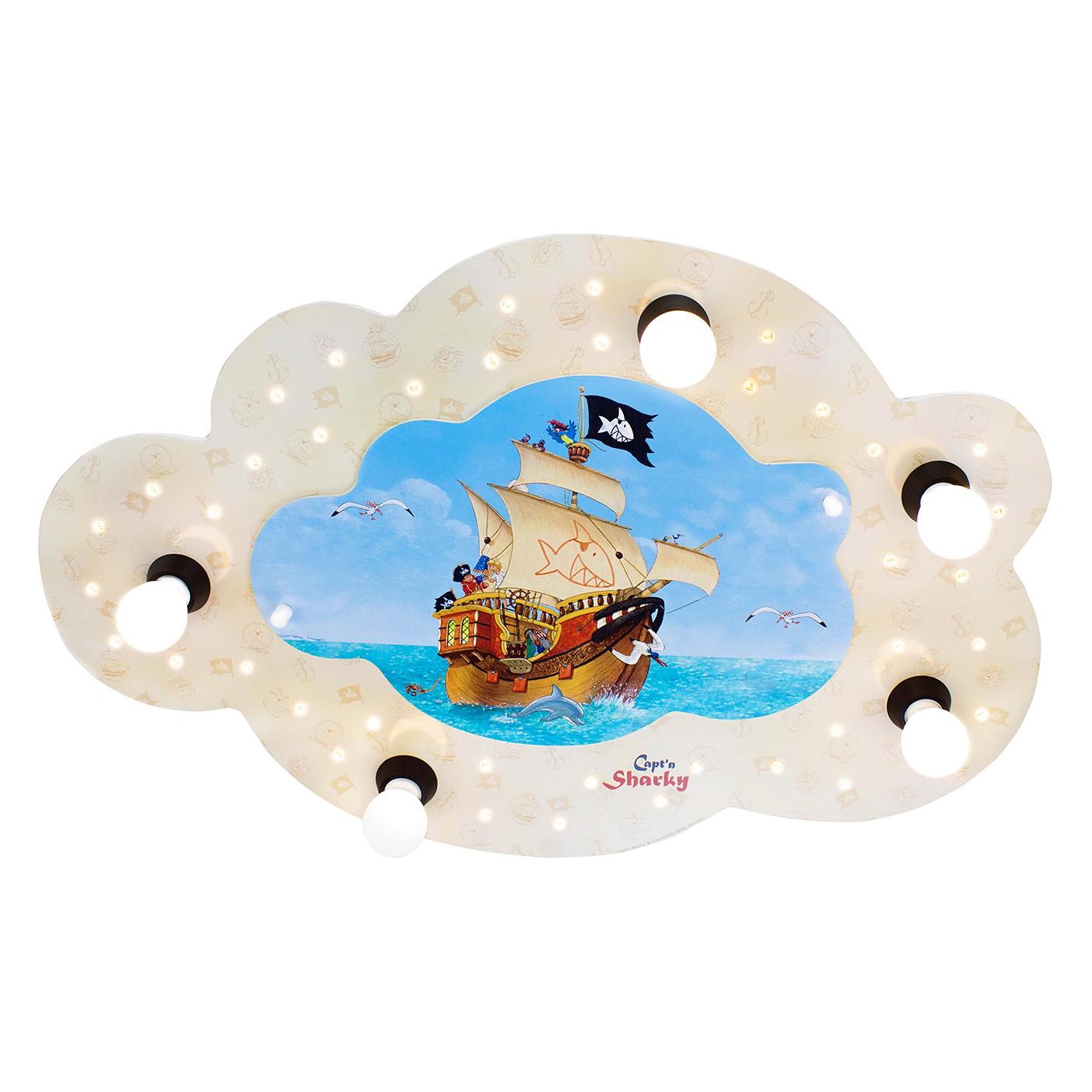 Plafonnier nuage Captn Sharky