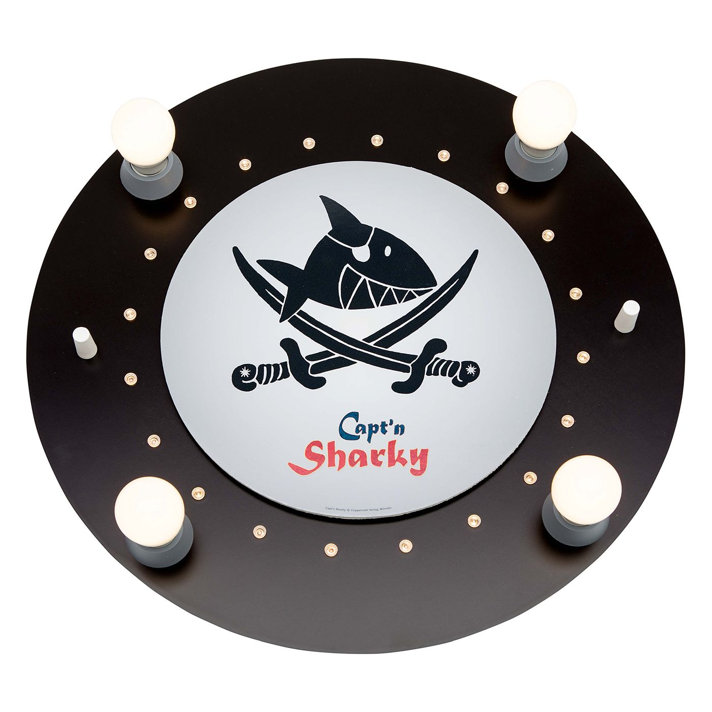 home24 LED-Deckenleuchte Captn Sharky III