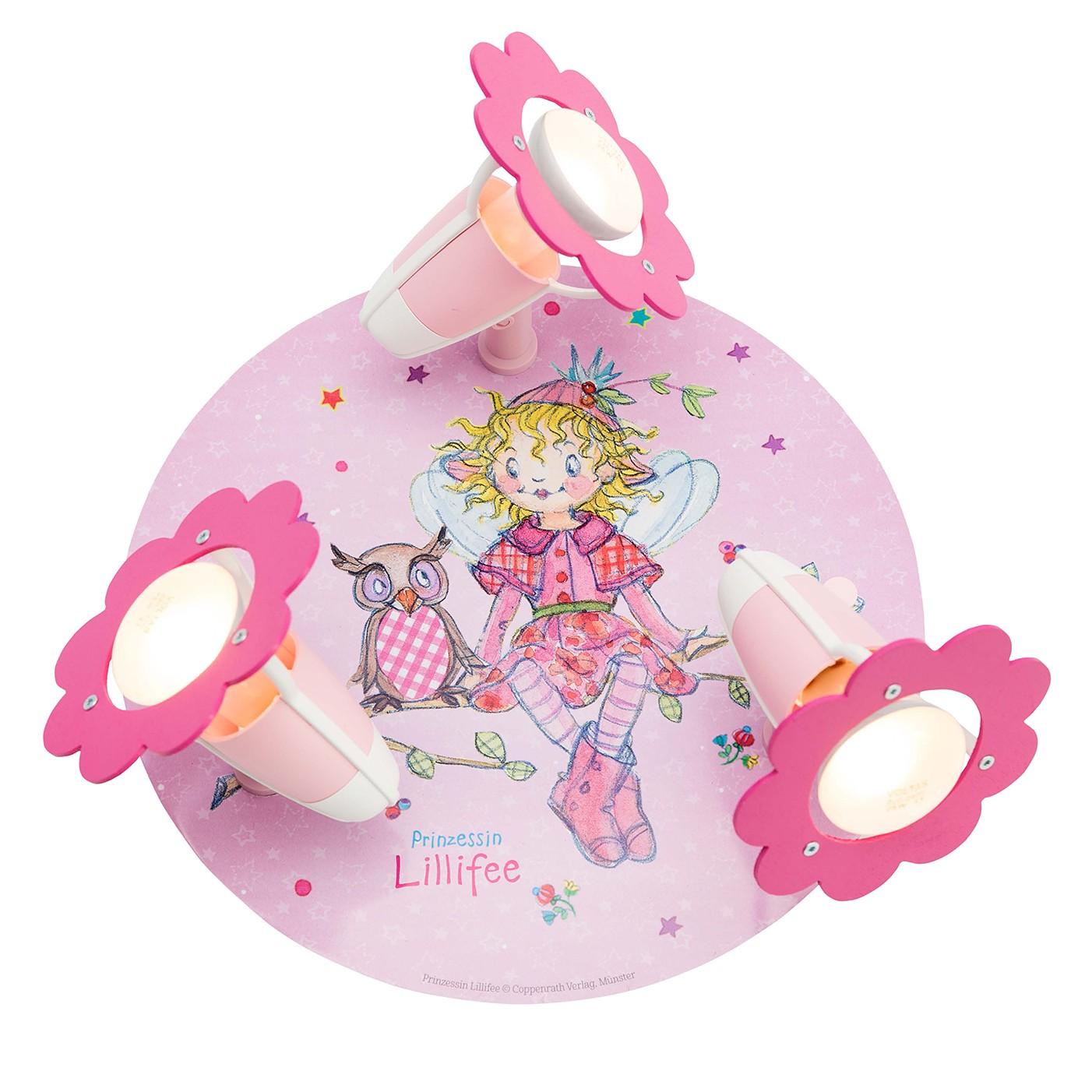 Plafonnier spots Princesse Lillifee II