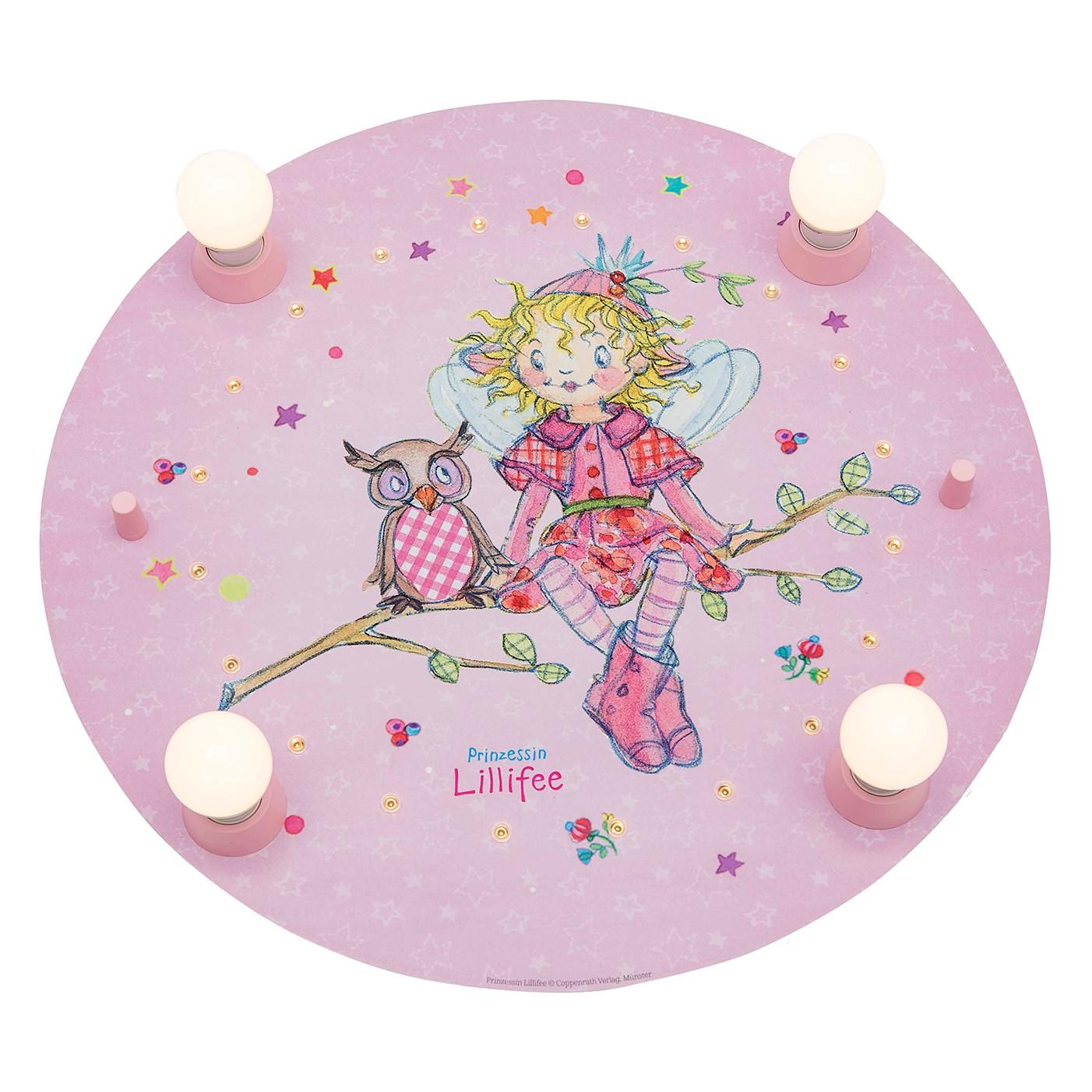 LED-Deckenleuchte Prinzessin Lillifee II