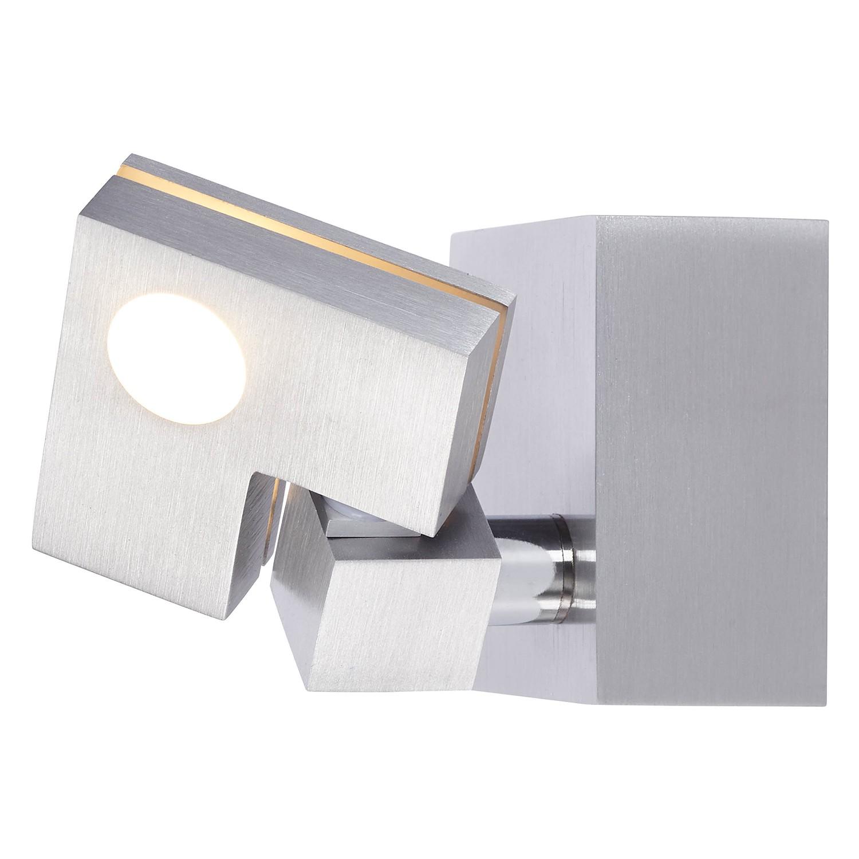 home24 LED-Wandspot Degree | Lampen > Strahler und Systeme | Silber | Metall - Kunststoff | Brilliant Living