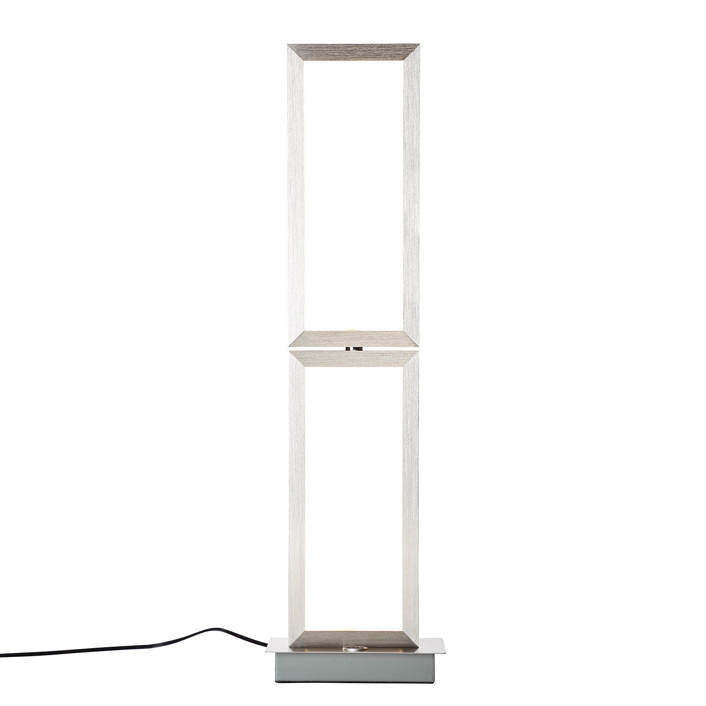 home24 LED-Tischleuchte Tunar | Lampen > Tischleuchten > Beistelltischlampen | Silber | Brilliant Living