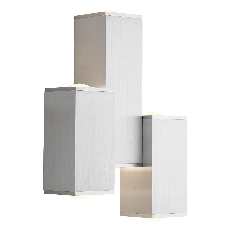 home24 LED-Wandleuchte Cubic III