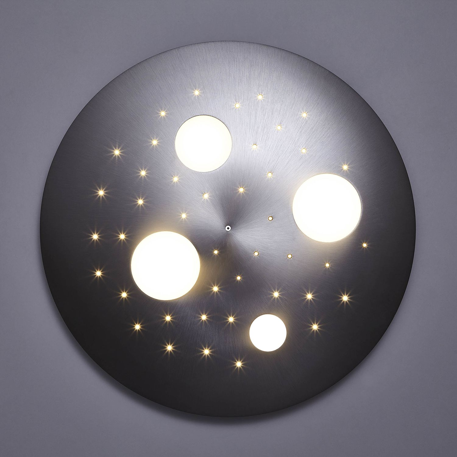 home24 LED-Deckenleuchte Planets