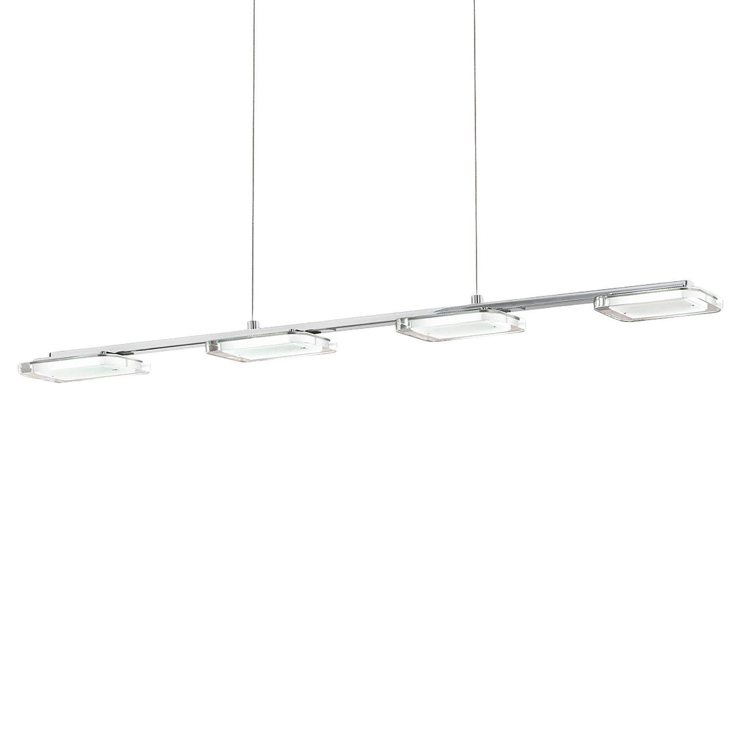 home24 LED-Pendelleuchte Cartama I