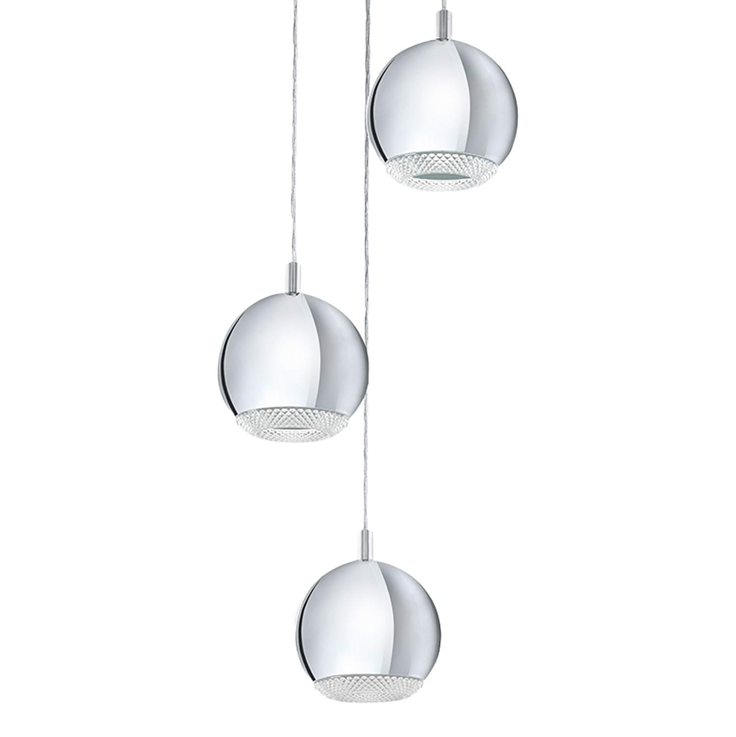 home24 LED-Pendelleuchte Conessa III