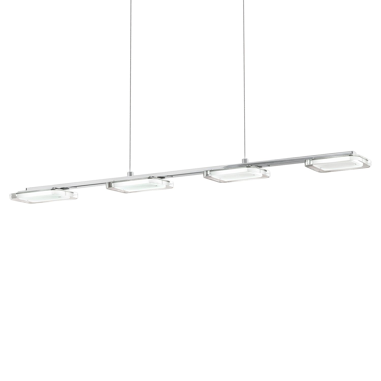 home24 LED-Pendelleuchte Cartama III
